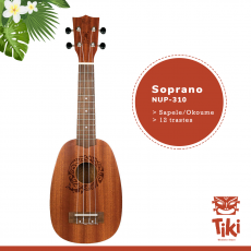 Ukelele Soprano Flight NUP310